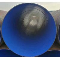 Wholesale SSAW spiral welded steel pipe 3-18m Length API 5L Grade B / X42 / X52 - X80 from china suppliers