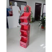 Wholesale Sturdy Cardboard Makeup Display Stand Unit for Shopping mall , Pos Cardboard Displays with price tags from china suppliers