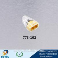 Wholesale Quick push wire Wago connector 773-102 from china suppliers