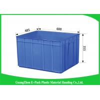 Wholesale Logistics Packaging Plastic Storage Trays Recycle Stackable  For Warehousing from china suppliers