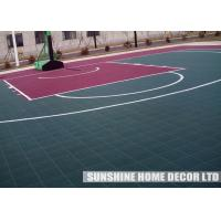 Wholesale Sports Hall Indoor Sports Flooring , Plastic Flooring For Bathroom Kindergarten from china suppliers