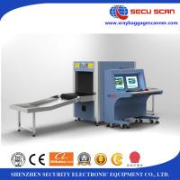 Quality Dual Direction Scanning X Ray Baggage Scanner Image Monitoring for sale