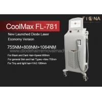 Wholesale Multi Wavelength Professional Laser Hair Removal Equipment With ISO13485 from china suppliers