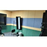Quality 40% Low Melt Fiber Polyester Acoustic Wall Panels Fireproof Acoustic Sound Panels for sale