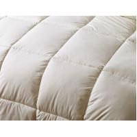 Wholesale Customized Grid Embossing Down Feather Quilt With Double Stitched Piping Edges from china suppliers