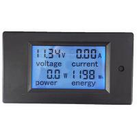 Wholesale DC 6.5~100V 0~20A 4 in 1 Digital Voltage Current Power Energy meter Large LCD Screen DC from china suppliers