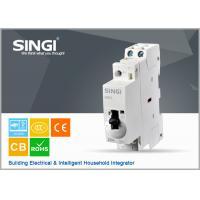 Wholesale IEC61095 PVC system 1P-4P MCB moulded case circuit breakers 230V 63A from china suppliers