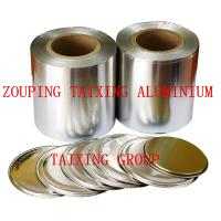 Wholesale lacquer aluminium foil for peel off easy open lids from china suppliers