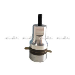 China 35Khz Ultrasonic Welding Transducer , 2 Ceramics Spot Welder Sewing Machine on sale