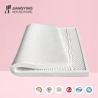 High quality 7-zone dunlop moulded sleep rest massage 100% natural latex mattress
