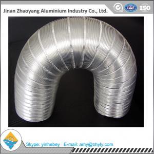 Wholesale Aluminum Foil Semi - Rigid Corrugated Pipe / Aluminum Foil Ventilation Pipe from china suppliers