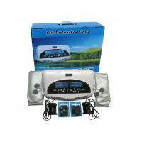 Wholesale Two LCD discreen display White color Dual persons use detox foot spa machine 110-240V from china suppliers