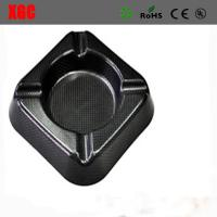Wholesale Top Quality Carbon Fiber Glossy Finishing Cigar Ashtray from china suppliers