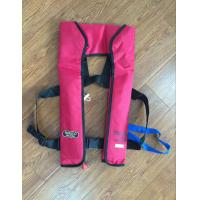 Wholesale 275N double chamber inflatable life jacket with light SOLAS approved from china suppliers
