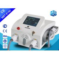 Wholesale Promotional Ipl Hair Removal Machine With SHR , Permanent Hair Removal Equipment from china suppliers