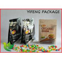 Wholesale Four Side Seal Block Bottom Packaging Bag For Coffee Packaging Snack Package from china suppliers