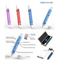 Wholesale Magic Handheld Smallest 3D Pen , Pink Color 3 - D Drawing Pen Lightweight from china suppliers