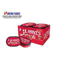 Wholesale Xylitol Cool Fresh Sugar Free Lozenges Shape Customized With One / Double Layers from china suppliers