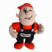 Wholesale Super Nice Plush Toy Figure, Nice for Children's Playing from china suppliers