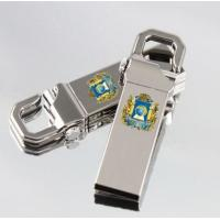 Wholesale Logo in 1 color or in full color or laser engraving 8 Gb Metal usb disk drive with printed logo from china suppliers