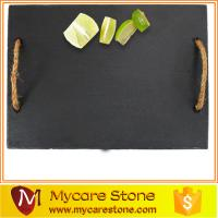 Wholesale wholesale tableware beautiful rectangular natural slate cheese board from china suppliers