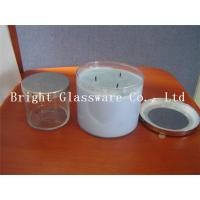 Wholesale hot sale candle cantainer, candle cup with metal lid in USA from china suppliers