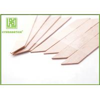 Wholesale Biodegradable Small Wooden Spatula , Rhombus Shape Hair Removal Spatula from china suppliers