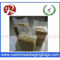 Wholesale Heat Vacuum Seal Bags For Rice , Three Side Transparent storage bags from china suppliers