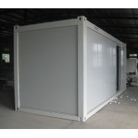 Buy cheap China manufacture white Prefabricated container house 2.4mx5.9mx2.79m from wholesalers