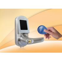 Buy cheap RFID Card Door Lock With Mobile phone, Card, Mechanical key, support NFC for option from wholesalers