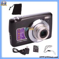 Wholesale 2.7′′ TFT Screen 4x Digital Zoom High-Definition Digital Camera Black (E03615) from china suppliers
