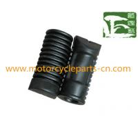Wholesale Plastic / Rubber Front Footrest Assy Suzuki Motorcycle parts for AX100 from china suppliers