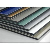 Wholesale PVDF Coating ACP Wall Cladding Composite Aluminium Sheet Anti - Static RAL Standard from china suppliers