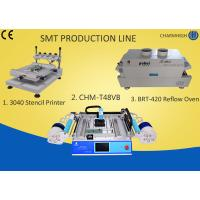 Wholesale 3040 Stencil Printer + Chmt48vb Table Top Pick And Place + T961 Reflow Oven , Smt Line from china suppliers