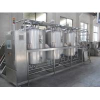 Quality CIP Cleaning System / CIP Washing Equipment For Beverage Beer Dairy Milk Food Industry for sale