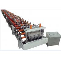 Wholesale Automatic Metal Deck Roll Forming Machine , Floor Deck Roll Forming Machine H-BEAM Frame from china suppliers
