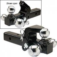 Wholesale Heavy-Duty 3-ball Mount with pintle , chrome ball from china suppliers