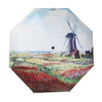 Wholesale Ladies beautiful High quality 3-fold full color print fashion umbrella from china suppliers