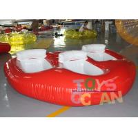 Wholesale Crazy Inflatable Water Toys Donut Boat Towable Ski Tube For Flying Water Sport from china suppliers