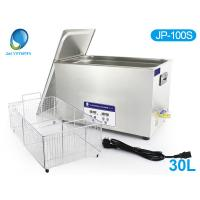 Quality 22L ultrasonic cleaning equipment , JP-080S Stainless Steel Ultrasonic Cleaner 40KHz CE for sale