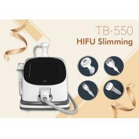 Wholesale Multi Functional HIFU Slimming Machine For Body Weight Loss Wrinkle Removal , Skin Rejuvenation from china suppliers