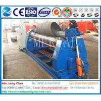 Wholesale Small diameter rolling! MCLW11NC hydraulic symmetric three roller coiling machine from china suppliers