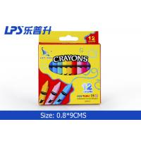 Wholesale Beautiful Gel Wax Crayons 12 Colors Regular Triangle Wax Crayons from china suppliers