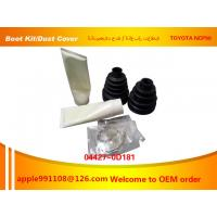 Wholesale Auto Parts CV Joint Boot Kit For Toyota Vios NCP90 Sample Available from china suppliers