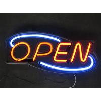Buy cheap Durable Waterproof 12V Acrylic Board Neon Open Signs For Shop Deco from wholesalers