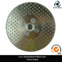 Wholesale 105mm electroplated diamond saw blade for stone glass porcelain granite marble cutting from china suppliers