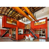 Wholesale Prefab Shipping Containers Shop / Combined Container House For Display And Exhibit from china suppliers