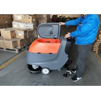 Wholesale Hand Push Automatic Walk Behind Floor Scrubber Not Cleaning Robot from china suppliers