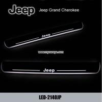 Wholesale Jeep Grand Cherokee Scuff Plate LED Light Bar Car Door Scuff Plate from china suppliers