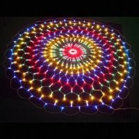 Buy cheap Flat emitting 220v fairy christmas led lights net CE ROHS approval from wholesalers